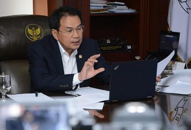 Azis Syamsuddin Minta Kemendikbud Tinjau Ulang Rencana Pembelajaran Tatap Muka