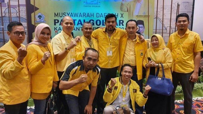 Struktur Lengkap Kepengurusan Golkar Kalbar 2020-2025 Di Bawah Maman Abdurrahman