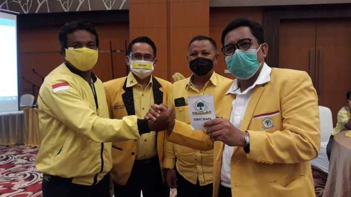 Terpilih Pimpin Golkar Kotawaringin Timur, Zam'an Bakal Gandeng Rudianur