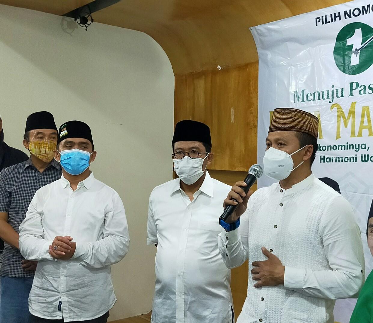 Unggul Telak di Pilkada Kota Pasuruan, Gus Ipul-Adi Wibowo Deklarasi Kemenangan