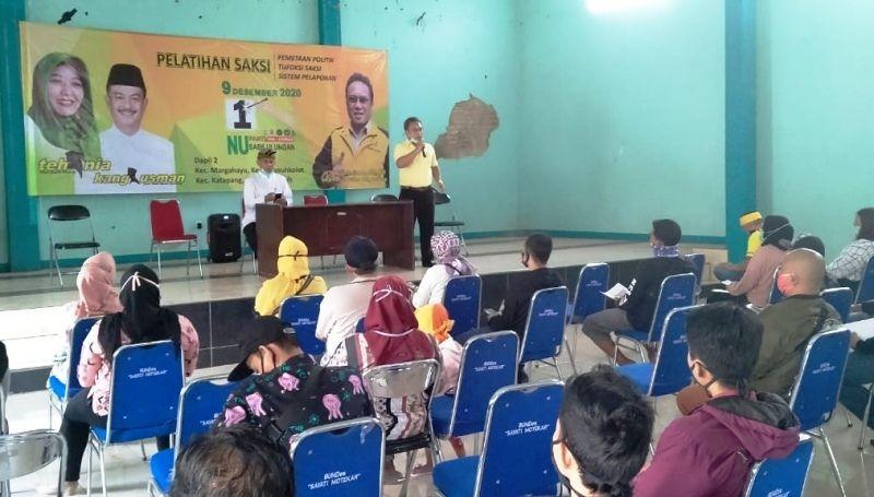 Golkar Kabupaten Bandung Bekali 13 Ribu Saksi Untuk Bertugas di 6.874 TPS 9 Desember 2020