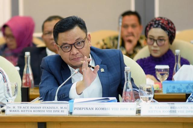 Ace Hasan Minta BNPB Pastikan Ketersediaan Alat Cegah COVID-19 di Pesantren
