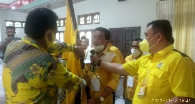 Unggul Satu Suara Dari Muhammad Junaidi, Teuku Saifullah Terpilih Jadi Ketua Golkar Pidie