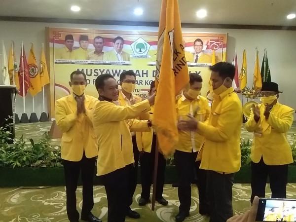 Terpilih Aklamasi, Hendra Siap Konsolidasikan Golkar Kota Samarinda Hingga Tingkat Kelurahan