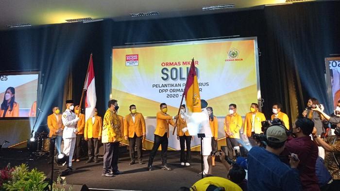 Dilantik Airlangga, Adies Kadir Ungkap 43 Persen Anggota Fraksi Golkar DPR Adalah Kader Ormas MKGR
