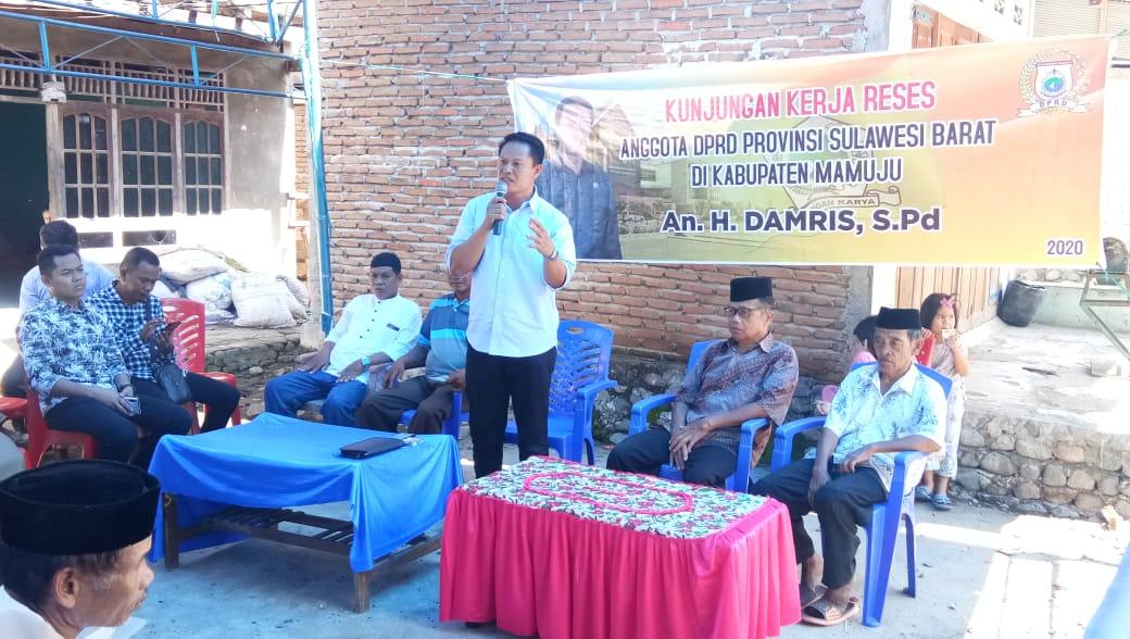 Damris Reses di Pokkang, Warga Minta Bantuan Bibit, Pupuk Hingga Jembatan Gantung