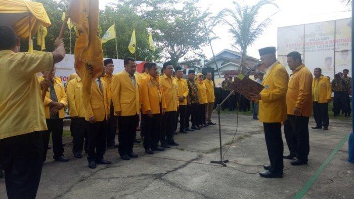 Andi Rachman Lantik Pengurus Golkar Kampar, Wakil Bupati Jadi Ketua Harian