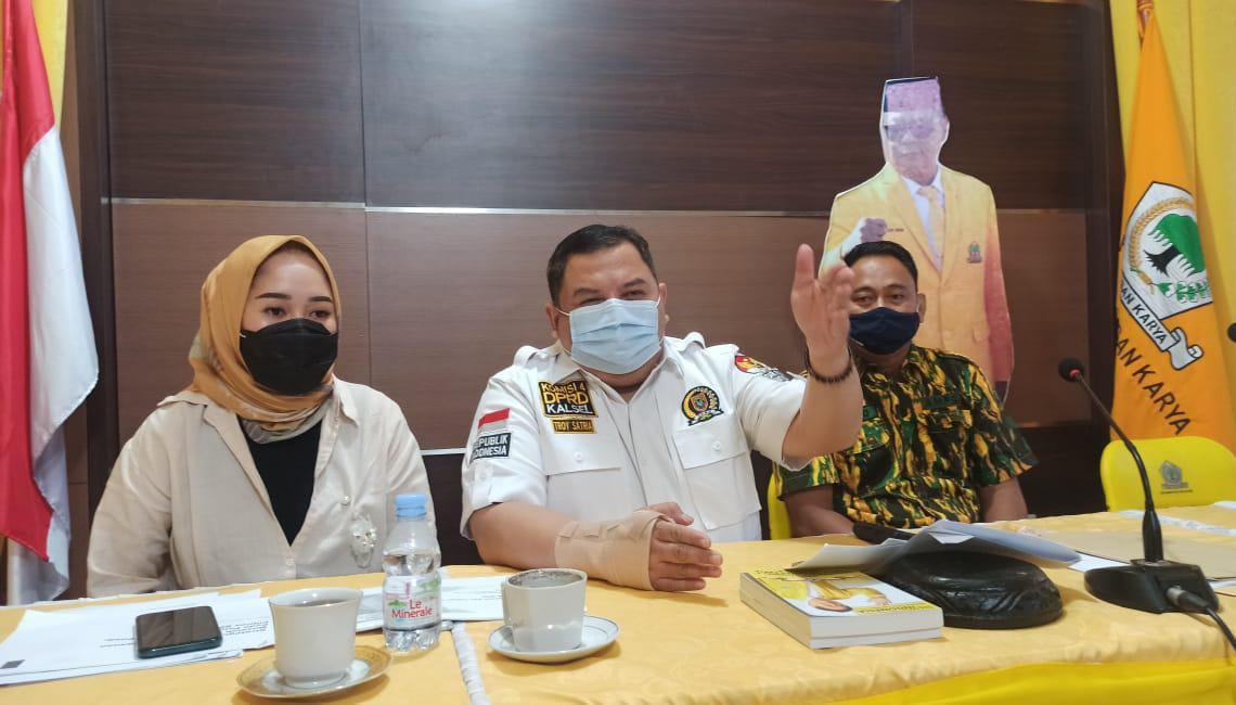 Troy Satria Bakal Rangkul Kaum Muda Banua Yang Tertarik Politik Ke Dalam AMPG Kalsel