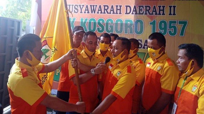 Halid Terpilih Jadi Ketua Kosgoro 1957 Kota Langsa