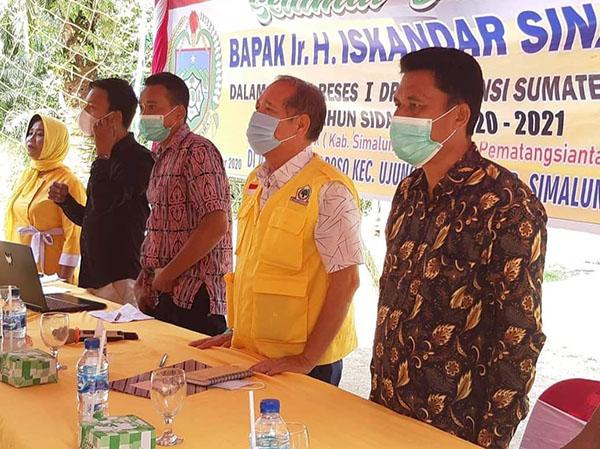 Musa Rajekshah Tunjuk Iskandar Sinaga Jadi Plt Ketua Golkar Deliserdang, Ini Tugasnya