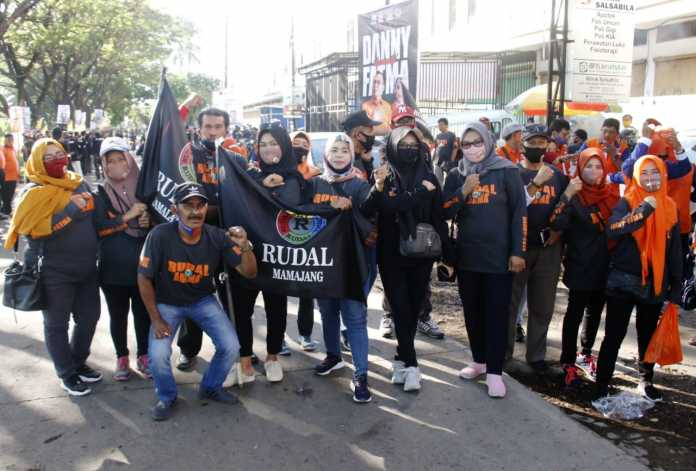 Relawan Rusdin Abdullah Solidkan Barisan Menangkan Danny Pomanto-Fatma Rusdi di Pilwali Makassar