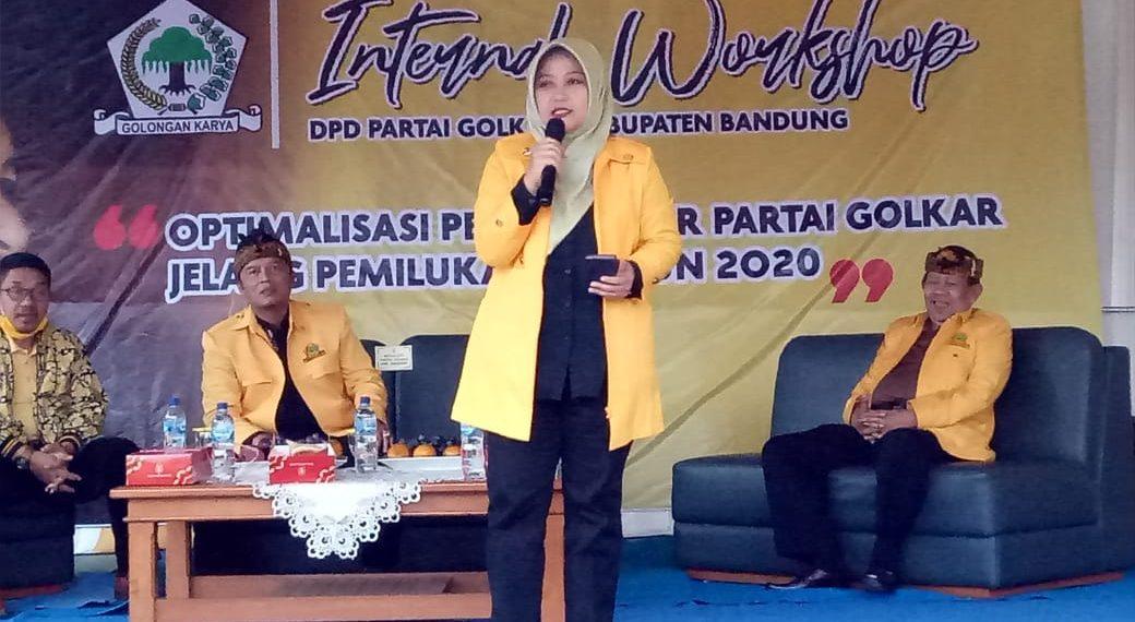 Kader Golkar Solid Menangkan Nia Agustina Jadi Bupati Bandung 2020-2025