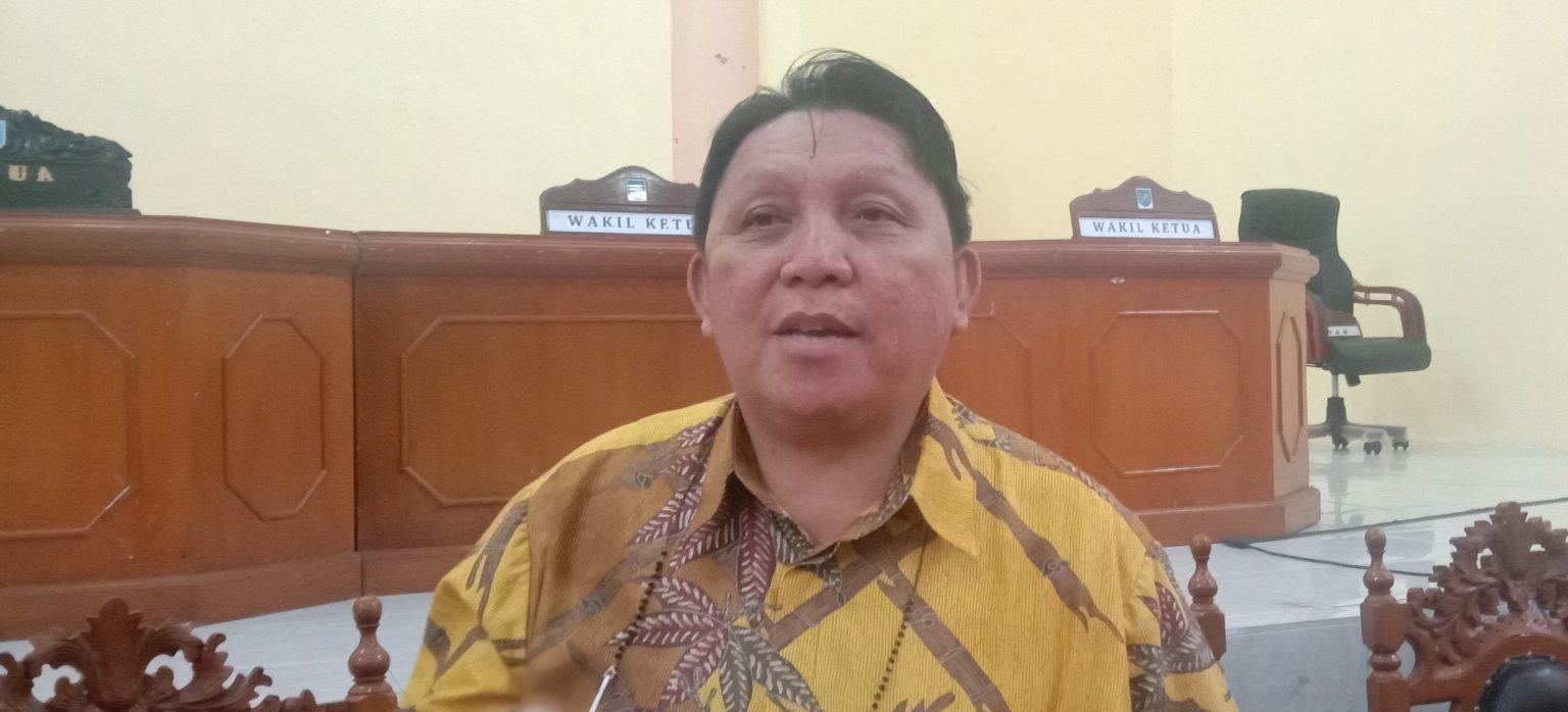 Ketua Fraksi Golkar DPRD Bolmong, Marthen Tangkere Meninggal Dunia