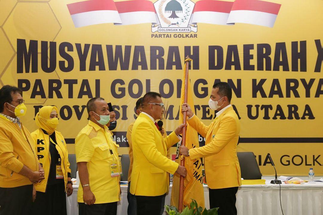 Calon Tunggal, Wagub Musa Rajekshah Ditetapkan Jadi Ketua Golkar Sumut