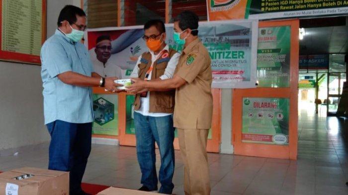 Gandeng BNPB dan Kemensos, Muhammad Fauzi Bagikan Ribuan Sembako dan Masker di Luwu Utara