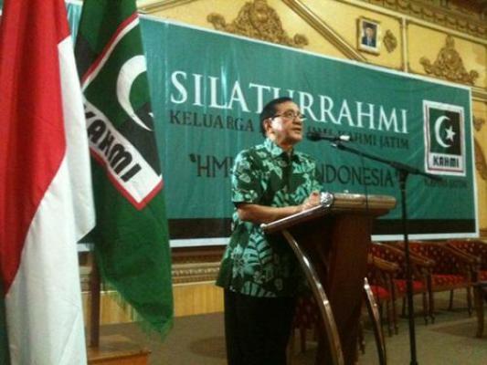Akbar Tanjung Siap Tampung Kader HMI Yang Ingin Berpolitik di Partai Golkar