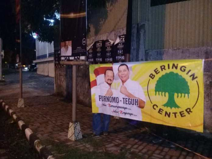 Beringin Center Dukung Duet Achmad Purnomo-Teguh Prakosa di Pilwalkot Solo 2020