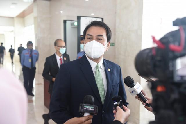 Kerap Timbulkan Polemik Hukum, Azis Syamsuddin Dukung UU ITE Direvisi dan Masuk Prolegnas 2021