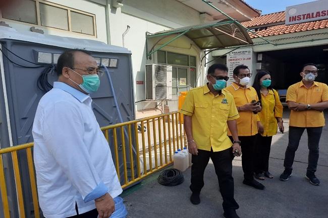 Golkar Salurkan Bantuan APD Ke Beberapa RS Rujukan Corona di Bali