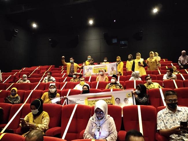 Hari Film Nasional, 3.200 Kader Golkar se-Indonesia Nobar Habibie Ainun 3 Di Bioskop