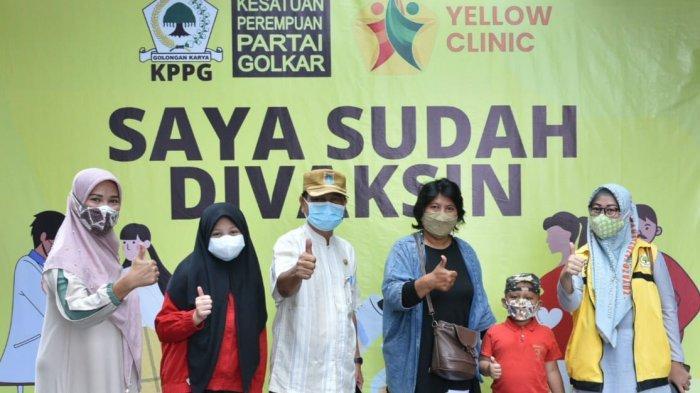 KPPG Gandeng Yellow Clinic Vaksinasi 2.000 Warga Jakbar, Airin Rachmi Diany: Demi Herd Immunity