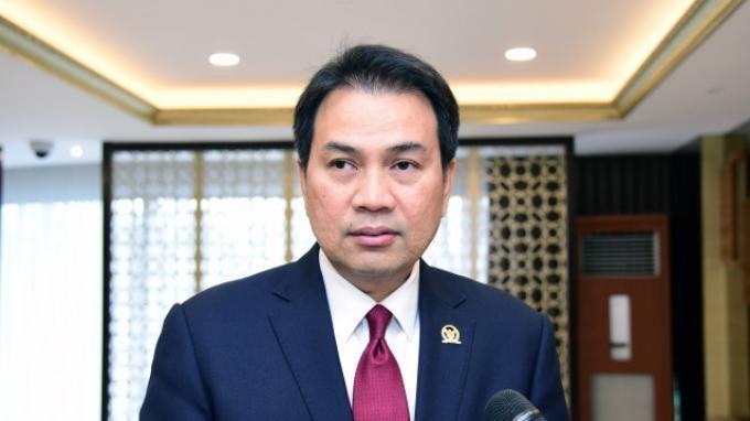 Azis Syamsuddin Minta Polri Tak Anggap Remeh Pesan Teror Berantai Pada Institusi Kepolisian